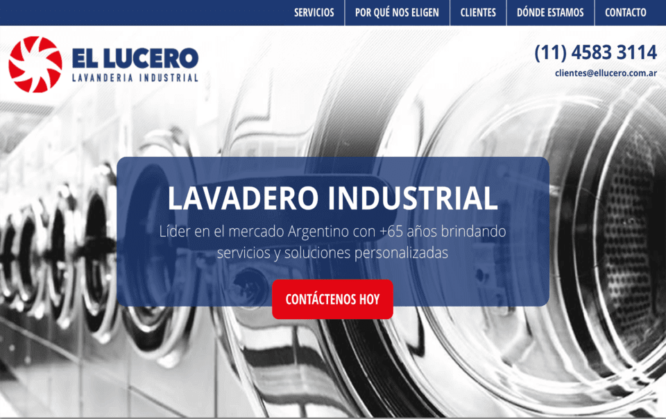 landing page argentina